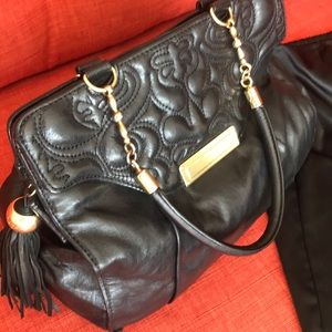 Nanette Lepore Black Leather purse